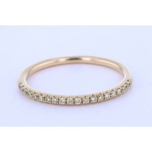 Stackable Diamond Wedding Ring  TR833Y-WB