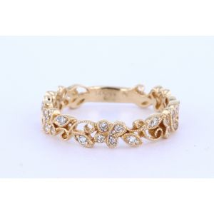 Stackable Diamond Wedding Ring  UR1192Y-B