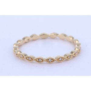 Stackable Diamond Wedding Ring  UR1612