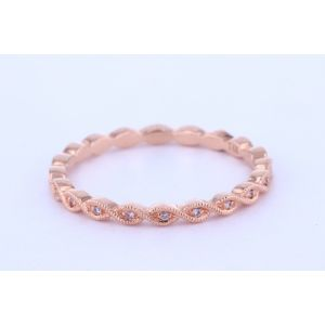 Stackable Diamond Wedding Ring  UR16185