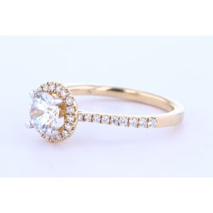 Halo Diamond Engagement Ring  UR1747-5