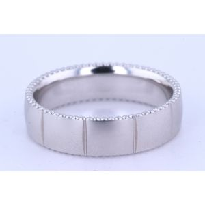 Verragio Mens Wedding Band  6N10
