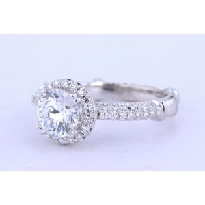 Verragio Parisian Halo Engagement Ring  123R