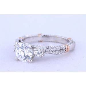 Verragio Parisian Three Stone Engagement Ring 129R