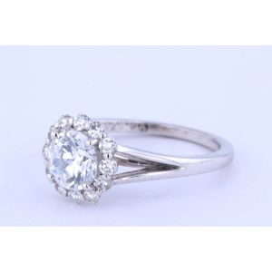 Verragio Couture Halo Engagement Ring  0356