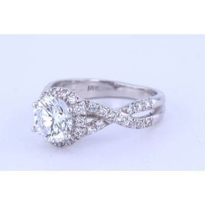 Verragio Couture Halo Engagement Ring  0384