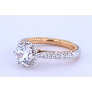 Verragio Couture Solitaire Engagement Ring  0458R