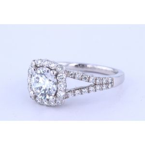 Verragio Insignia Halo Engagement Ring  7046