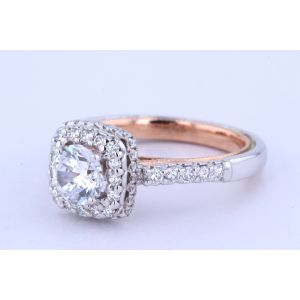 Verragio Classic Halo Engagement Ring  926CU