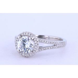 Jeff Cooper Halo Engagement Ring  1502