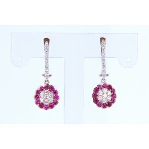 Miro Ruby Earrings  ER1572